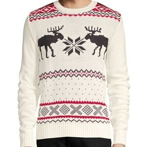 AMERICAN STITCH NWT Reindeer Sweater Size Small